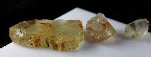 Natural Yellow Orthoclase Rough Lot