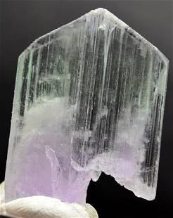 11 Grams Beautiful V Shape Terminated Bi Color Kunzite