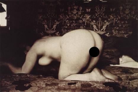 EUGENE ATGET - Femme Couchee, 1920