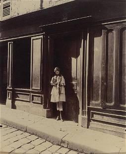 EUGENE ATGET - Versailles Maison, Close Petite Place