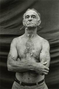DIANE ARBUS - The Human Pincushion, Ron Harrison, N.J.