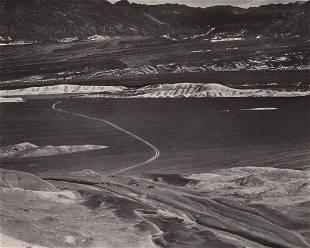 EDWARD WESTON - Furnace Creek Wash, Death Valley ca