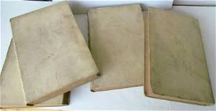 1723 4 VOL. DUTCH REVOLT HISTORY in MEDALS VELLUM