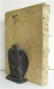 1678 Summa Bonacina antique 17th CENTURY VELLUM BOUND