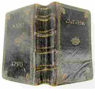 1788 GERMAN MARTIN LUTHER BIBLE antique BIBLIA OLD &