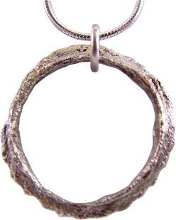 VIKING PROTECTIVE ARMOR BROOCH NECKLACE