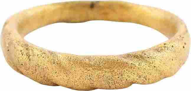 VIKING MAN'S RING C.850-1050 AD, SIZE 6 ½