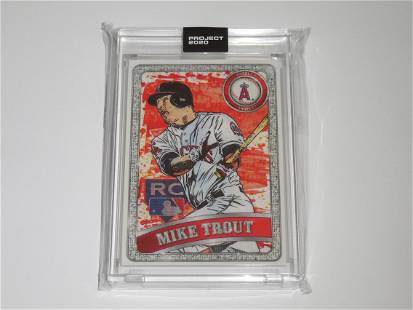 TOPPS PROJECT 2020 MIKE TROUT 2011 UPDATE BEN BALLER RC