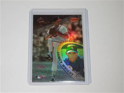 1996 BOWMANS BEST MIRROR IMAGE REFRACTOR MADDUX MUSSINA