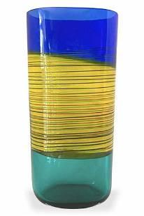 Alfredo Barbini - Vintage incalmo vase signed