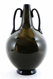 Adriano Dalla Valentina - Murano glass vase signed