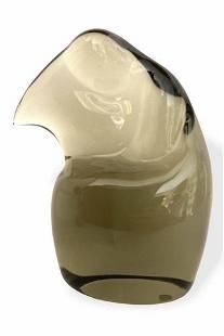 Ermanno Nason - Rare Murano glass sculpture signed