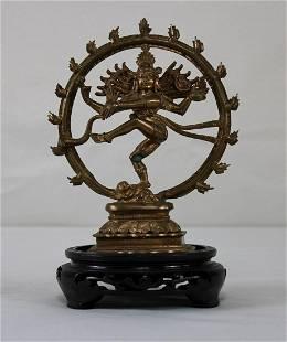 Brass Hindu Sculpture