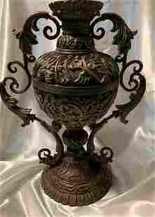 Antique Italian Bronze Vase