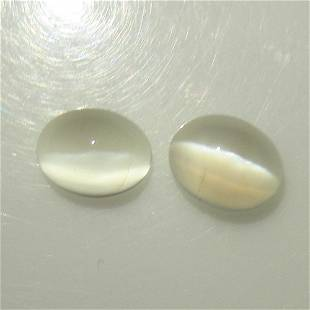 4.61 Ct Natural Moonstone Oval Pair
