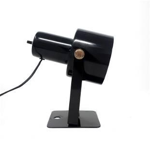 Vintage Black Desk or Wall Lamp