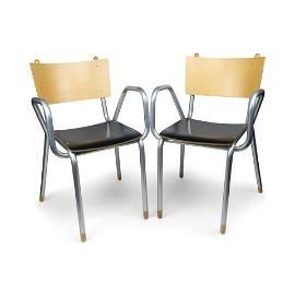 Pair of Classe Prima B Armchairs by Maurizio Peregalli