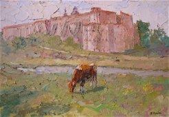 Oil painting Summer day Serdyuk Boris Petrovich