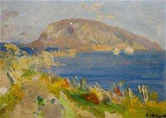Oil painting Sunny day Bezugly Daniil Ivanovich