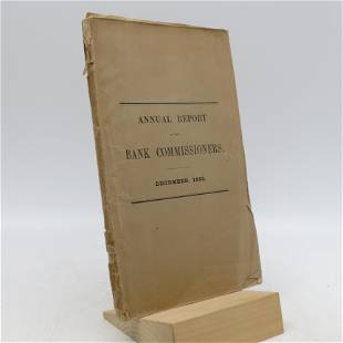 Annual report of the Bank Commissioners: December 1855