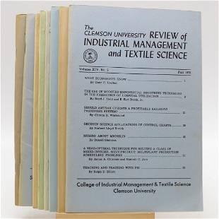 Clemson University Review of Industrial Management &