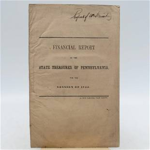 Annual Report of the State Treasurer of Pennsylvania,
