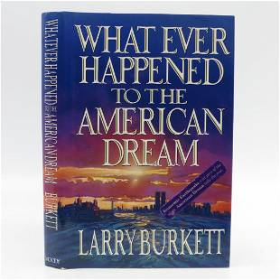 What Ever Happened to the American Dream (Signed)