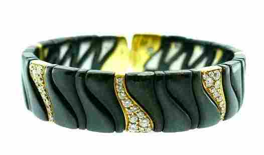 MARINA B. 18k Yellow Gold, Stainless Steel, Diamond &