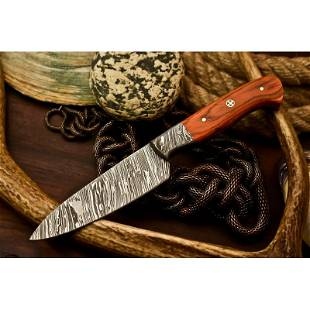 Handmade work exclusive pattern damascus steel knife