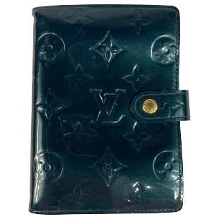 LOUIS VUITTON Vernis Agenda Diary w/Box