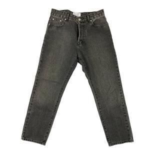Casasola Grey Straight Fit Denim Jeans, Size 40