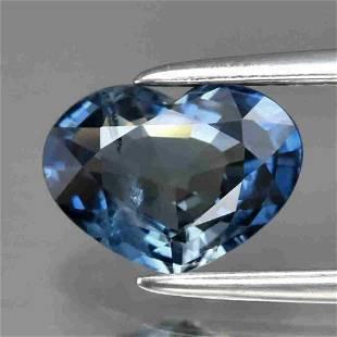 UGL CERT 1.27ct Natural Loose Blue Sapphire