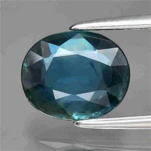 UGL CERT 1.64ct Natural Loose Blue Sapphire