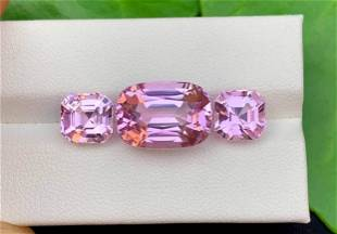 Natural Pink Kunzite Spodumene Loose Gemstones