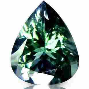 Natural Tanzanite 0.56ct Pear AAA