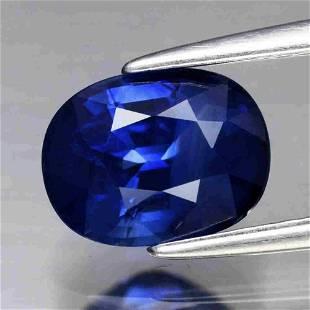 UGL CERT .73ct Natural Loose Ceylon Blue Sapphire