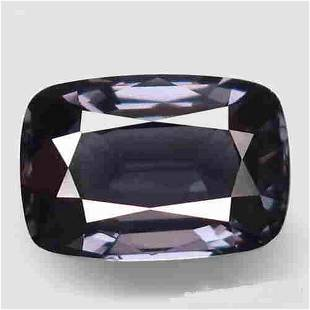2.35 ct silver purple spinel
