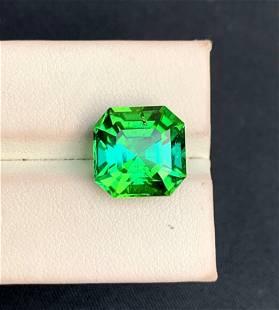Asscher Cut Natural Jaba Tourmaline Loose Gemstone -