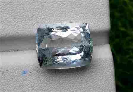 Aquamarine, 13.15 cts Top Color Natural Aquamarine from