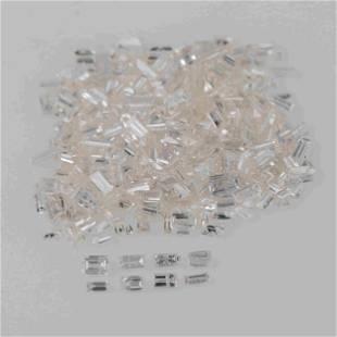 3.06 Carat H - J Color Natural Baguette Diamond 378