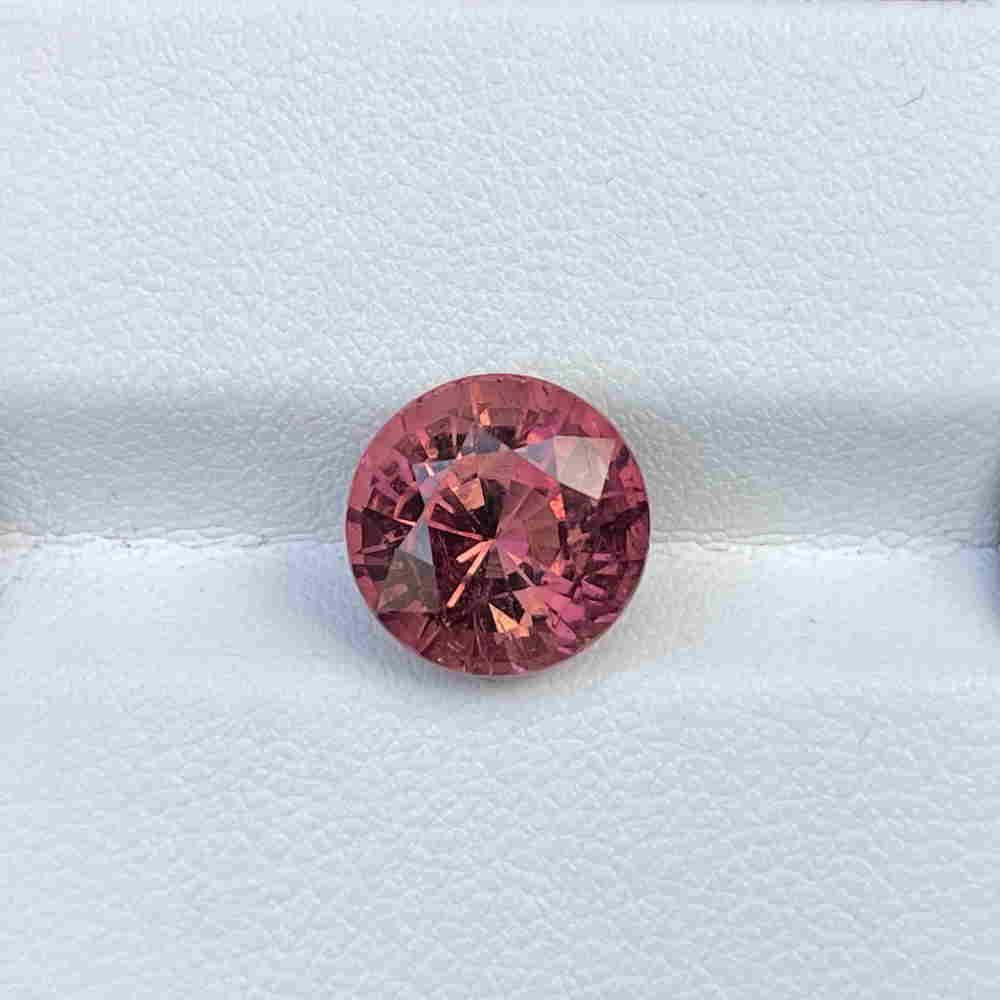 Natural Unheated Pink Tourmaline 5.29 Cts Congo Round