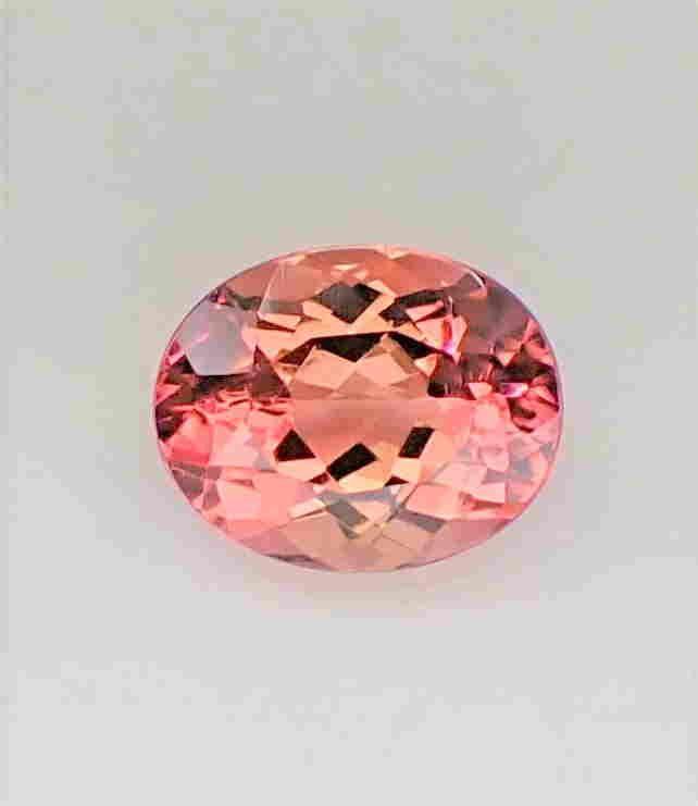 Pink Tourmaline Certified - 2.61 ct