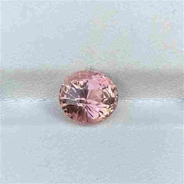 Natural Unheated Pink Tourmaline 4.11 Cts Oval Cut