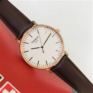 TISSOT Everytime Large Rose Gold Plated Watch