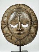 Mask from the Ekpo secret society, Eket people, Nigeria