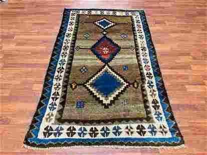 Antique Persian Tribal Gebbeh Rug-2883