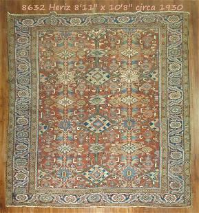 Antique Persian Heriz No. 8632
