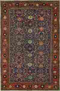Antique Sultanabad Rug No. 8444