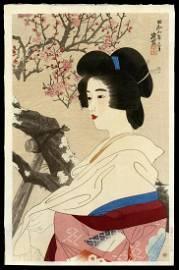 SHINSUI, Ito: Red Plum Blossoms
