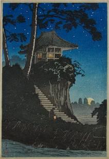 Shotei: Moonrise at Tokumochi
